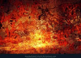 Grunge on Fire Texture by kuschelirmel-stock