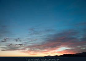 Sunset over Tuscany 02 by kuschelirmel-stock