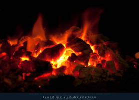Burning Coal 16 by kuschelirmel-stock