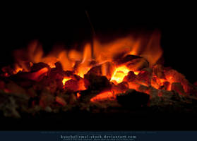 Burning Coal 13 by kuschelirmel-stock