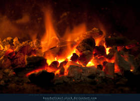 Burning Coal 12 by kuschelirmel-stock