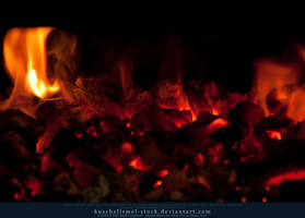 Burning Coal 11 by kuschelirmel-stock