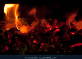 Burning Coal 10 by kuschelirmel-stock