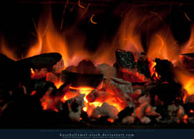 Burning Coal 07 by kuschelirmel-stock