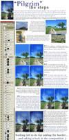 Pilgrim - the steps by kuschelirmel-stock