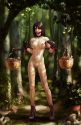Mushrooming by JanVanh