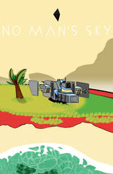 No Man's Sky fanart (SG reup.) by FireLordA2