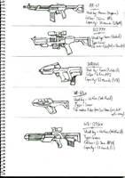 K2K Assault Rifles 1 by SkyWhiteFox
