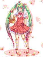 Killer Strawberry by haru-naru