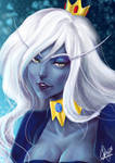 Adventure Time: The Ice Queen by haru-naru