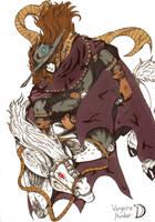Vampire Hunter D Cover by Demorta