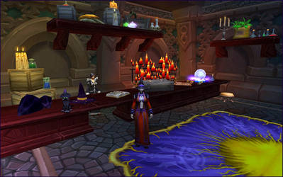 Welcome to Ravenstone Magic Shop by Zombiena