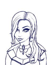 Sonya Rothenstein Sketch by Zombiena