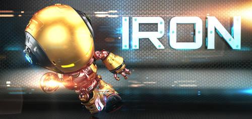Iron bot by Ociacia