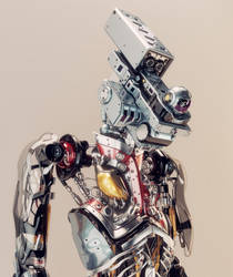 Robotic humanoid security by Ociacia