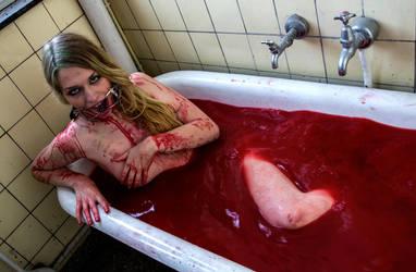 Bathing in Death II by JasmineSuzannaV