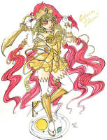 Eternal Sailor Galaxia by MistressLegato