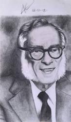 Isaac Asimov by aletss98