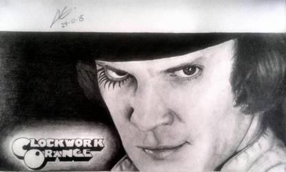 Malcolm McDowell as Alex by aletss98