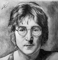 John Lennon by aletss98