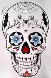 Skull by aletss98