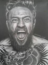 Conor McGregor 'The Champ Champ' by aletss98