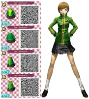 Chie Staonaka Persona 4 Qr Code by emmadreamstar