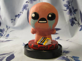 Binding of Isaac Statue by emmadreamstar
