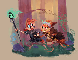 Into the Woods! by Stasya-Sher