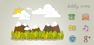 Diddly Icons for Android by gseth