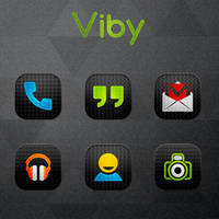 Viby - Icon Pack (Android) by gseth