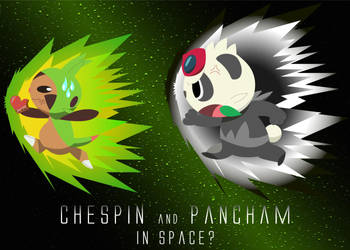 Pokemon XY Chespin and Pancham in Space? by PhoenyxuzPrimax