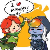 0549: I love mango by Agito666