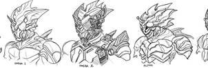 0581: Kamen Rider Amazons by Agito666