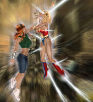 RIP AF Doom 13: Ultra Woman by andrewr255