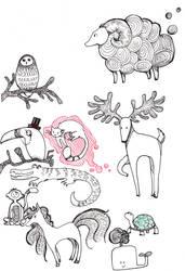 Animals by Yai-chan