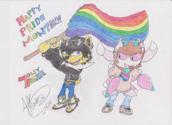 Show Us your Pride,Boys! by Tonythunder