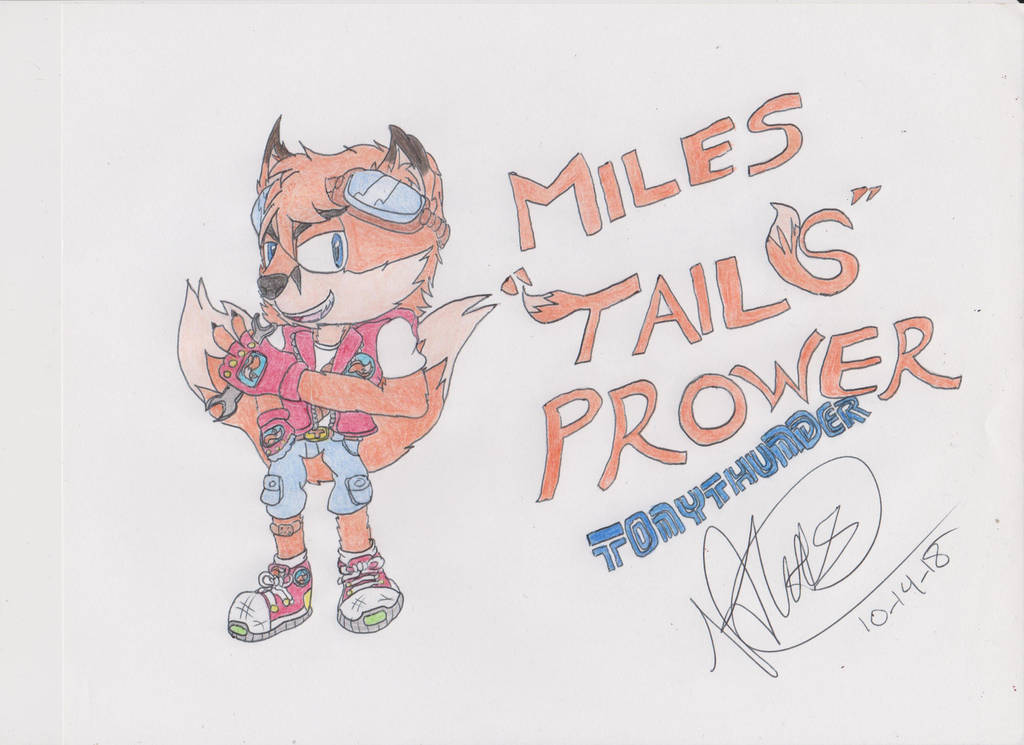 Our Favorite Two-tailed Foxboi by Tonythunder