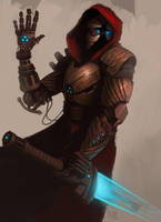 Cyborg warrior by madspartan013