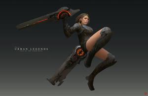 Blade Dancer Gear by madspartan013
