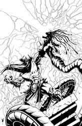 Murderthane Inked by StarGamerWorld