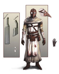 Plague Doctor concept by lordrhino15