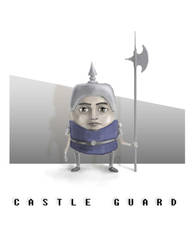 Castle Guard by lordrhino15