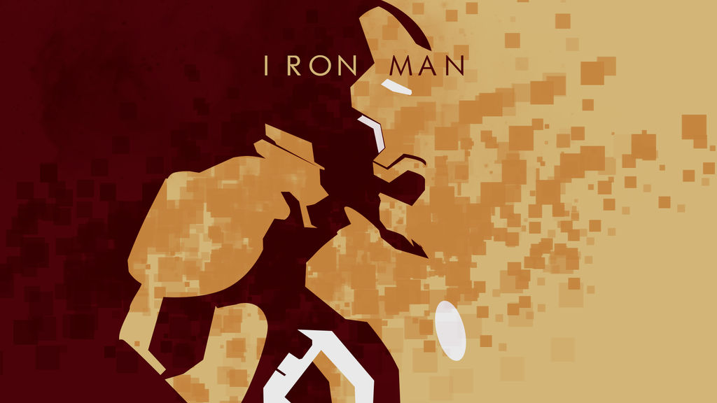 Iron Man 3 Minimalistic Wallpaper By Browniehooves On Deviantart