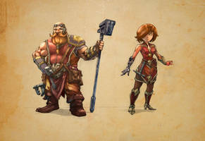 Ferumith gnomes by ManaMakeStudio
