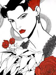Wanda Maximoff by JarOfLooseScrews