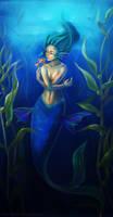 Golden Kiss-  Mermaid by Morigalaxy