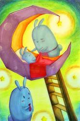 Good Night Sleep Tight by Morigalaxy