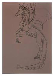 Dragon by Pipsu
