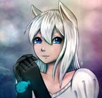 Wandarocket's OC Furry Cat personified by FixelCat